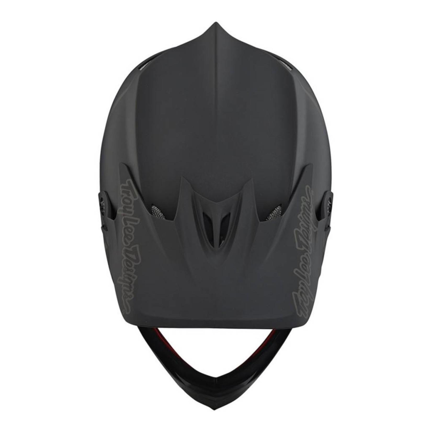 Troy Lee Designs Troy Lee D3 Fiberlite Helmet Mono Black