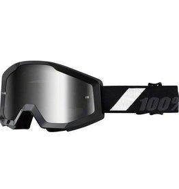 100% 100% Strata Jr Goggle Goliath Mirror Silver Lens