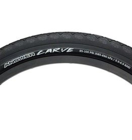 "Answer BMX Answer BMX Carve Foldable Tire 20 x 1.85"" Black"