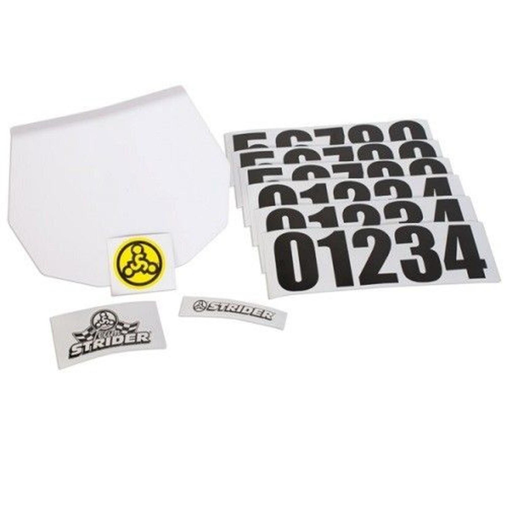 Strider Sports Strider Number Plate Kit