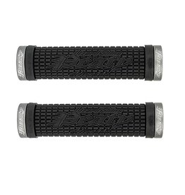Lizard Lock-On Grips Peaty Black