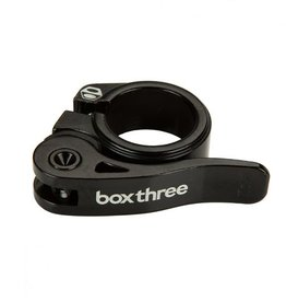 Box Components Box Three Quick Release Seat Clamp  Black 25.4