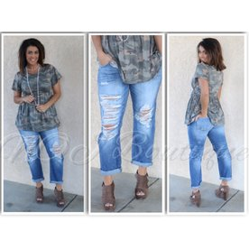 f675cd95b01 Have Some Fun Boyfriend Jeans by Kan Can ...