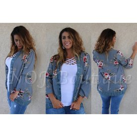 Have A Little Fun Floral Cardigan