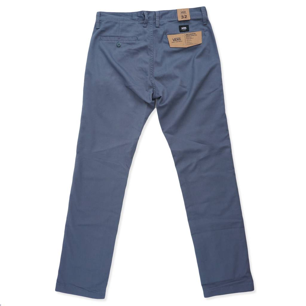 67cc9fb397d Vans Authentic Chino Stretch Pants - Stormy Weather