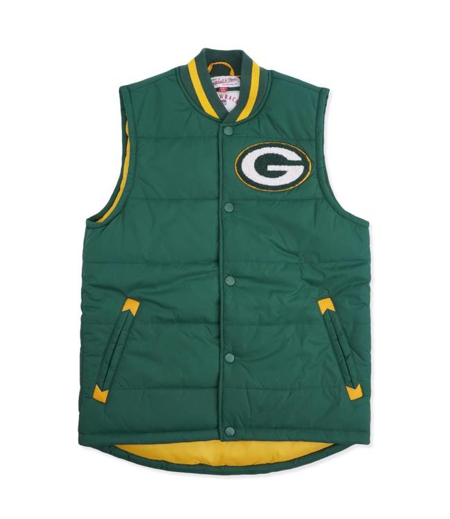 Mitchell   Ness Green Bay Packers Amazing Catch Vest - Green ... ce78c4518