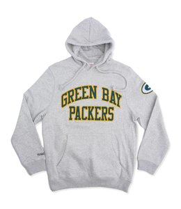 MITCHELL AND NESS PACKERS PLAYOFF WIN HOODIE