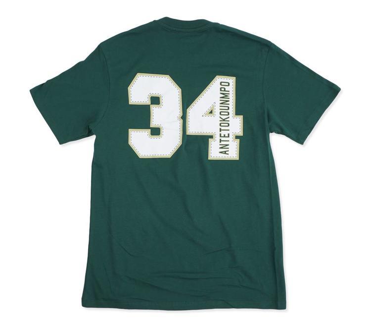 299394f90 '47 Brand Milwaukee Bucks Giannis Name and Number T-Shirt - Dark Green |  MODA3 Bucks Proshop - MODA3