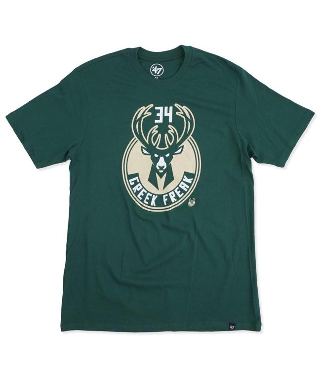 '47 BRAND Bucks Giannis Greek Freak Tee