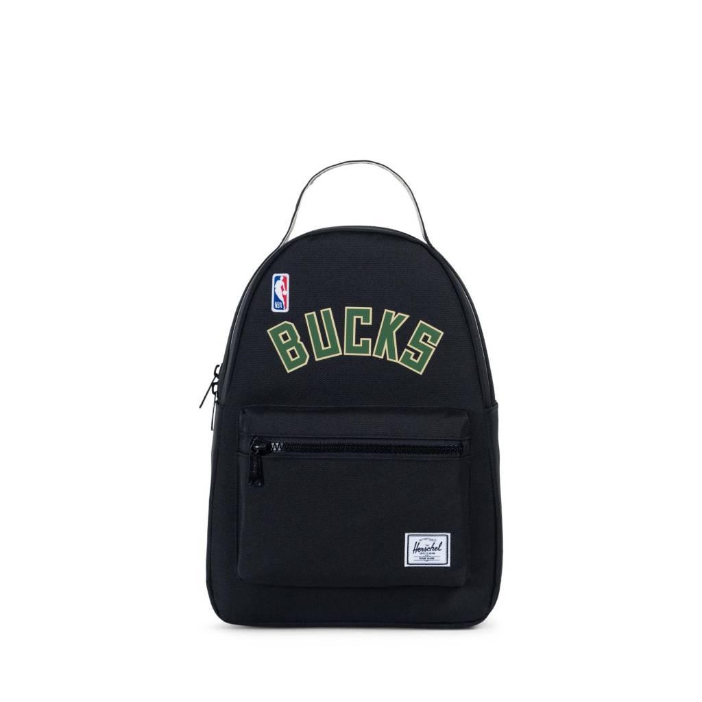 Herschel Supply Co. Milwaukee Bucks Nova Mini Backpack - Black ... 20b30c950399a