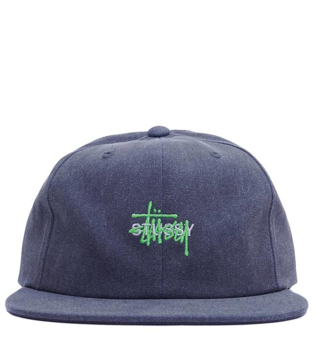 STUSSY Lock Up Logo Snapback Hat