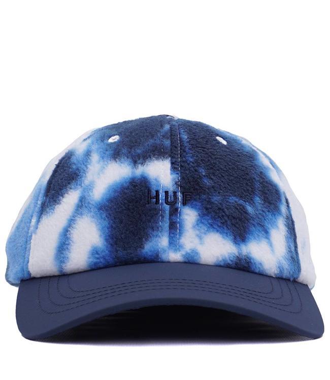 5cb63c5ccc3 HUF Polar Fleece 6-Panel Hat - Mood Indigo