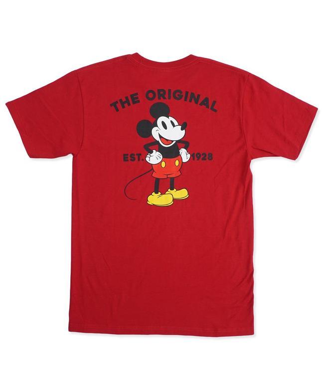 cc41b823ec Vans x Disney Mickey s 90th Classic T-Shirt - Cardinal