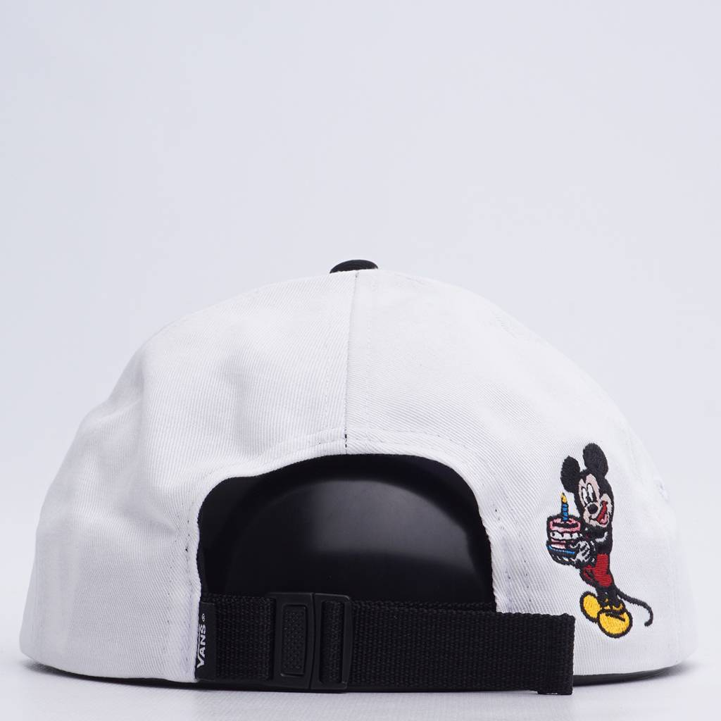 f4e4f76d15a Vans x Disney Mickey Through Jockey Hat - White