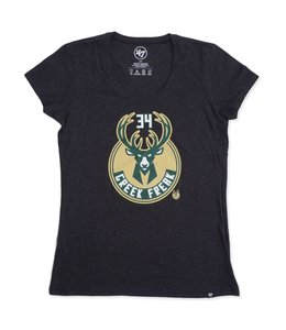'47 BRAND BUCKS WOMENS GREEK FREAK SCOOP TEE