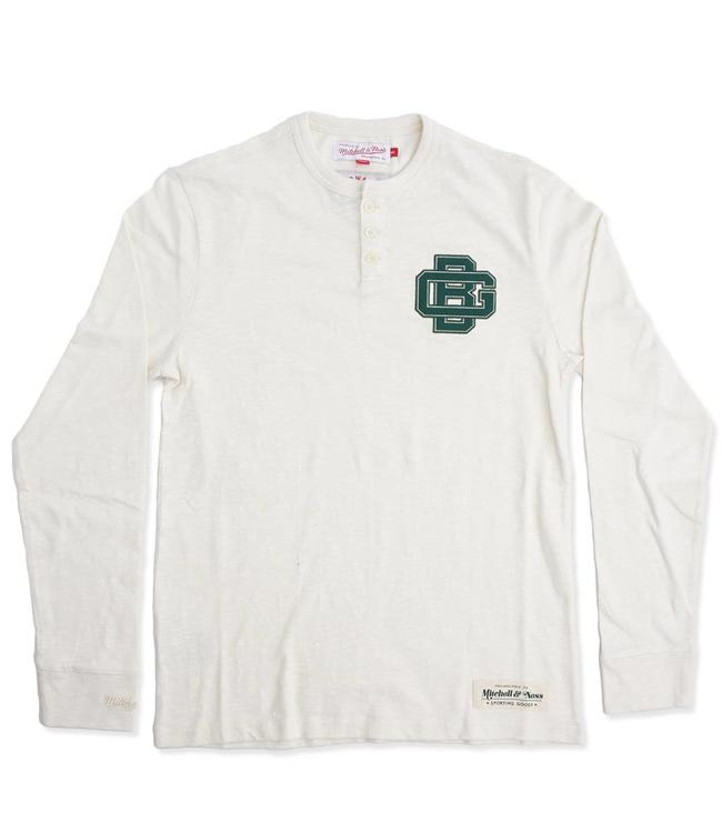 MITCHELL AND NESS Packers First Round Pick Long Sleeve Henley