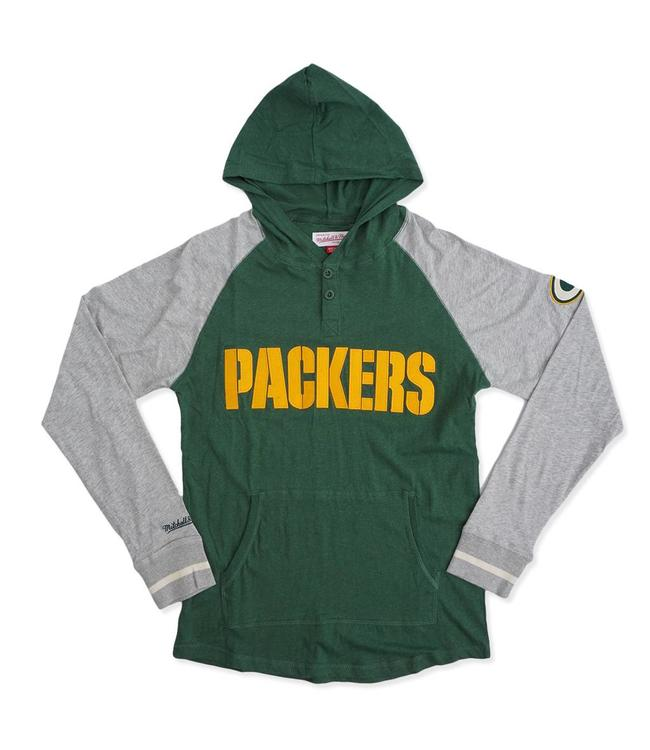 MITCHELL AND NESS Packers Slugfest Lightweight Hoodie