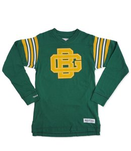MITCHELL AND NESS PACKERS TEAM CAPTAIN V-NECK LS