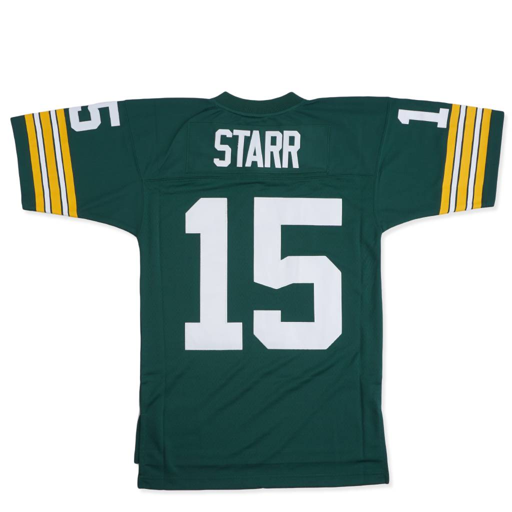 more photos 2c97f cc909 Mitchell & Ness Green Bay Packers Bart Starr 1969 Jersey - Green |  735423369BSTAR