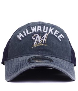 NEW ERA BREWERS RUGGED 9TWENTY TRUCKER HAT