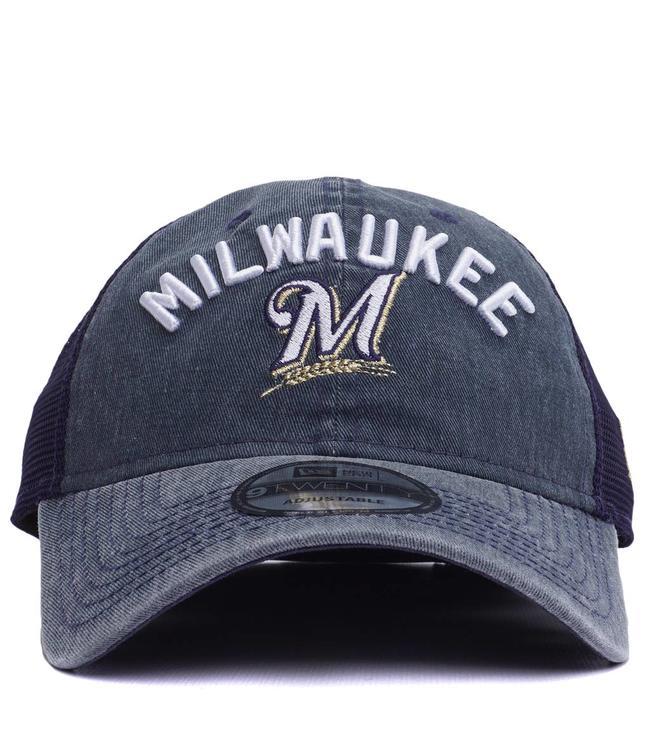 NEW ERA Brewers Rugged 9Twenty Trucker Hat