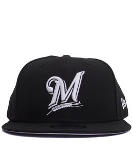 NEW ERA BREWERS BASIC 9FIFTY SNAPBACK HAT