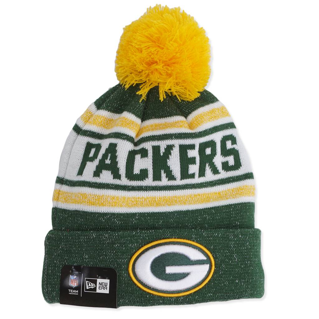 f702cd21 New Era Green Bay Packers Toasty Beanie - Green/Gold