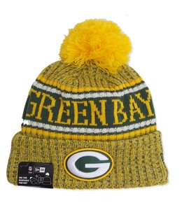 NEW ERA PACKERS REVERSED SPORT KNIT BEANIE