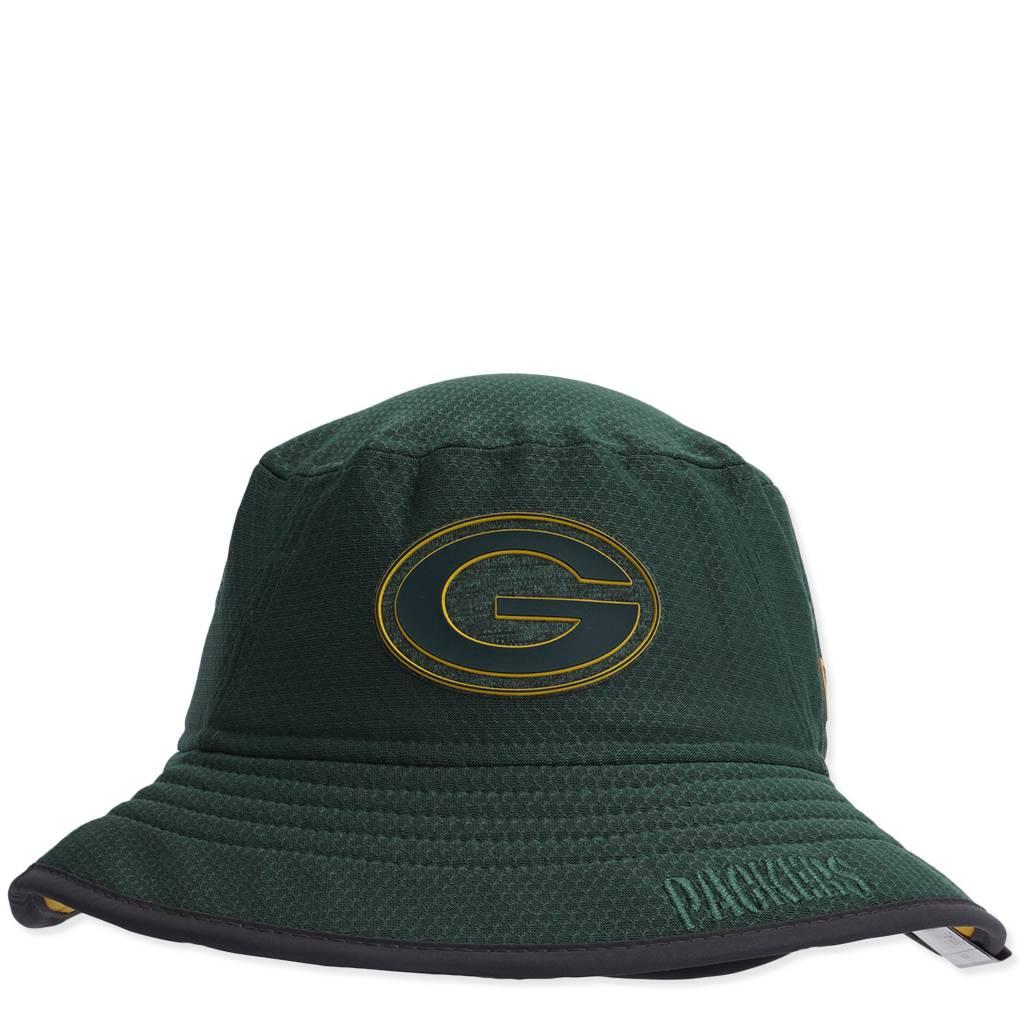 27add676 New Era Green Bay Packers Training Bucket Hat - Green