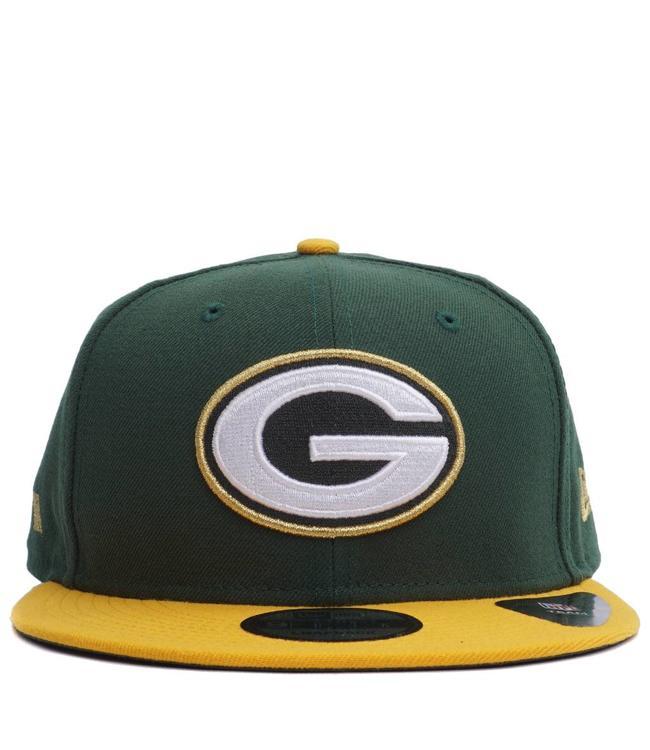 NEW ERA Packers Glory Turn 9Fifty Snapback Hat