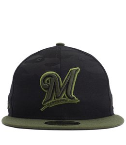 NEW ERA BREWERS MEMORIAL DAY 59FIFTY FITTED HAT
