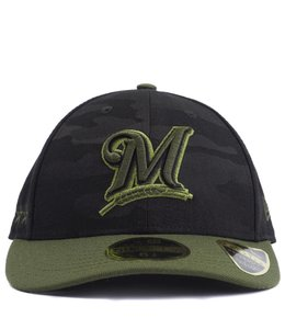 NEW ERA BREWERS MEMORIAL DAY LOW PROFILE FITTED HAT