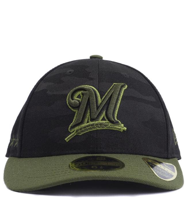 buy popular 53db4 80864 NEW ERA Brewers Memorial Day Low Profile Fitted Hat