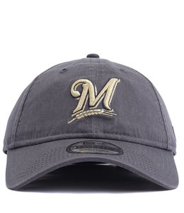56c89f40d8ac07 New Era Milwaukee Brewers Core Classic 1970 9TWENTY Hat - Royal - MODA3