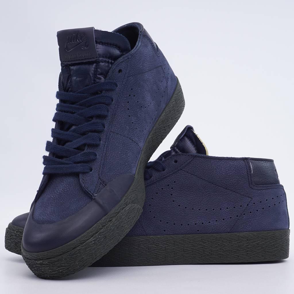 9aa750b569c Nike SB Zoom Blazer Chukka XT Shoes - Obsidian Obsidian
