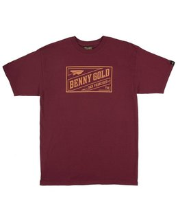BENNY GOLD STAMP TEE
