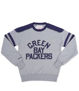 MITCHELL AND NESS PACKERS POST SEASON RUN CREWNECK