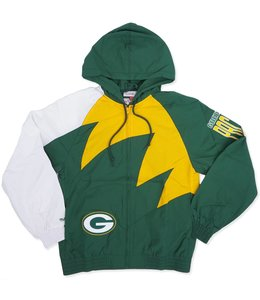 MITCHELL AND NESS PACKERS SHARK TOOTH JACKET