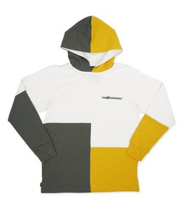THE HUNDREDS ABSTRACT HOODED L/S SHIRT