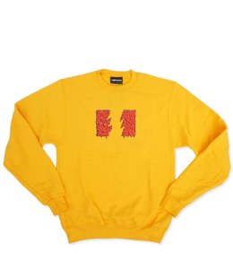 THE HUNDREDS SLIME FLAG CREWNECK SWEATSHIRT