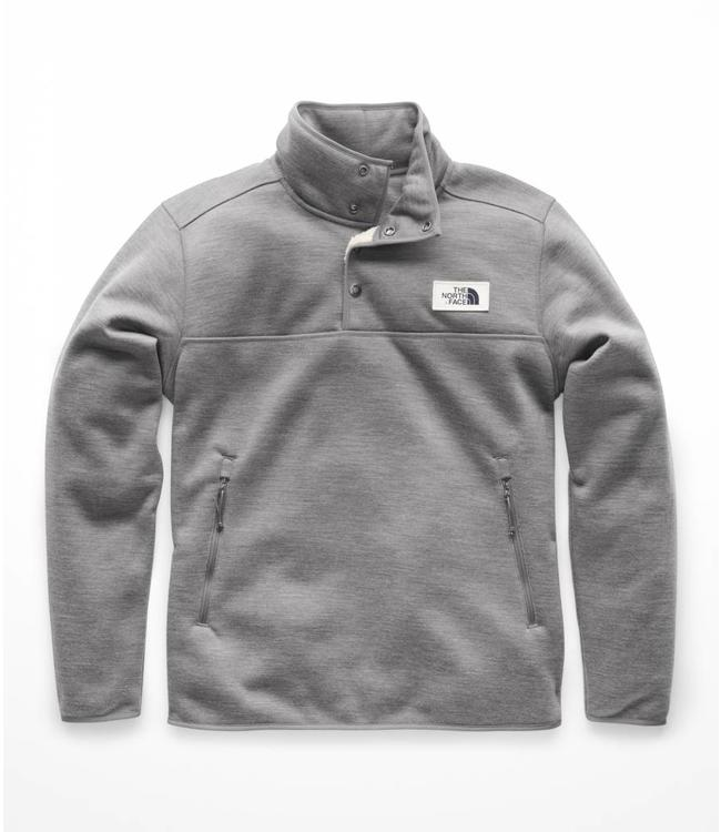 5329cc54f2a The North Face Sherpa Patrol 1 4 Snap Pullover - Grey Heather - MODA3