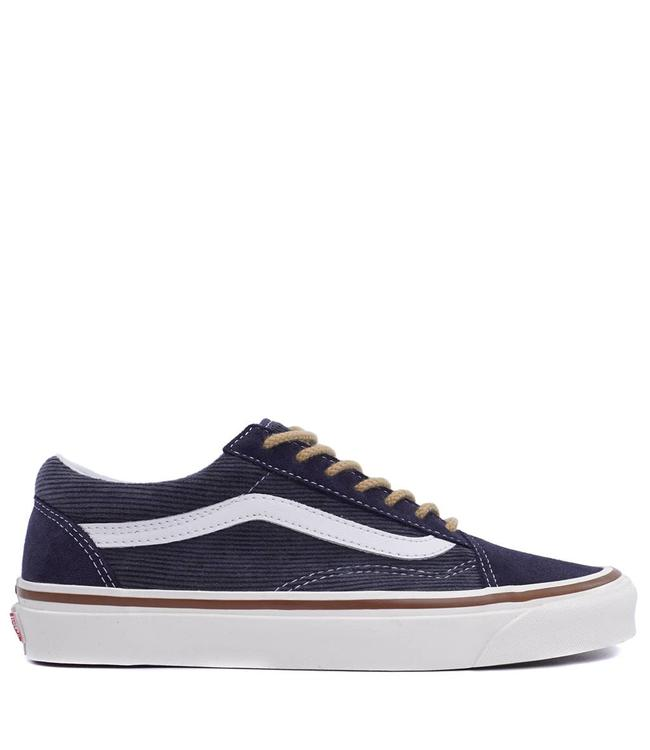 f1878f8aa3c0 Vans Old Skool 36 DX (Anaheim Factory) Shoes - OG Navy Suede ...