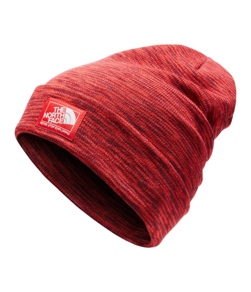 dec87b4ee The North Face Dock Worker Beanie - Range Red Space Dye