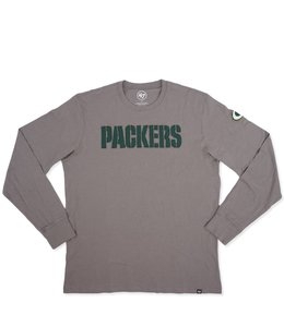 '47 BRAND PACKERS FIELDHOUSE LS TEE