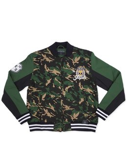 STAPLE NAPALM CAMO FLEECE BOMBER