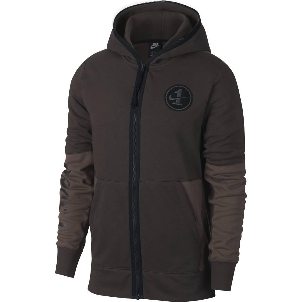 938a23e206e4 Nike AF1 Full-Zip Hoodie - Velvet Brown Black