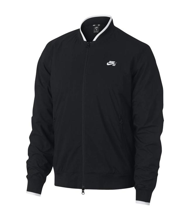 43336020 Nike SB Icon Bomber Jacket - Black/Black-White | AQ8642-010 - MODA3