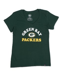 '47 BRAND PACKERS WOMEN'S COOPER ARCH TEE