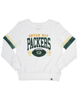 '47 BRAND PACKERS WOMEN'S THROWBACK CREW