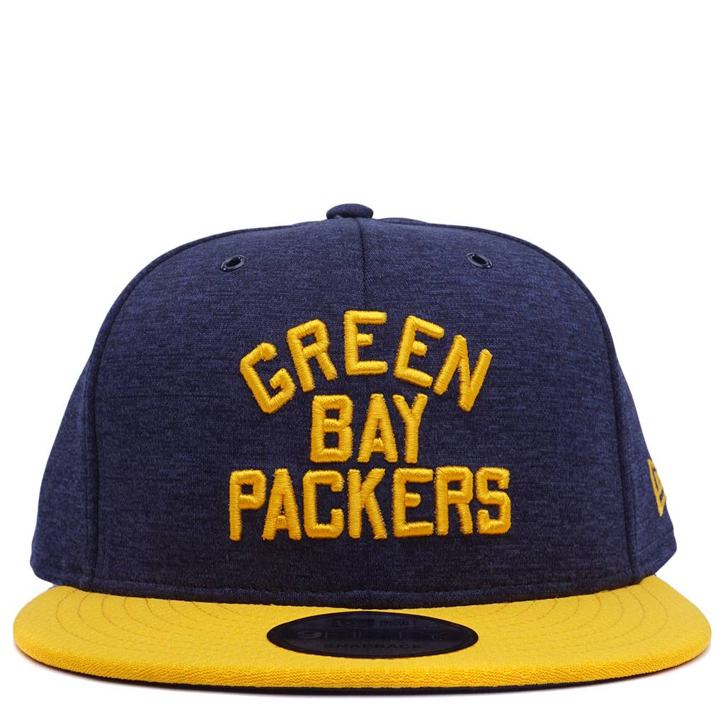 82070a6e8 New Era Green Bay Packers Sideline Home Snapback Hat - Navy/Gold